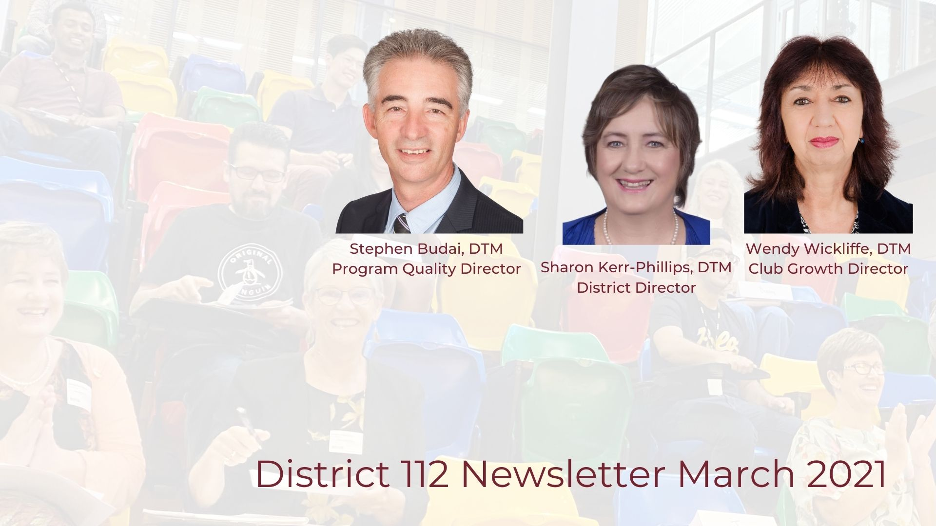 District 112 Newsletter March 2021