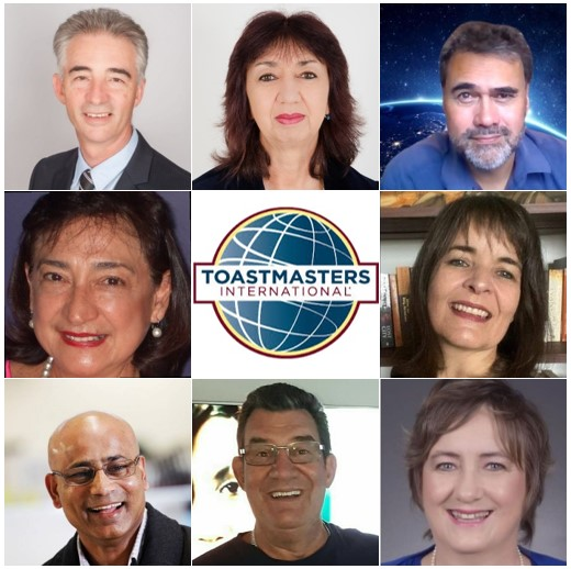 Toastmasters New Zealand North District 112 Top Table 2021 - 2022