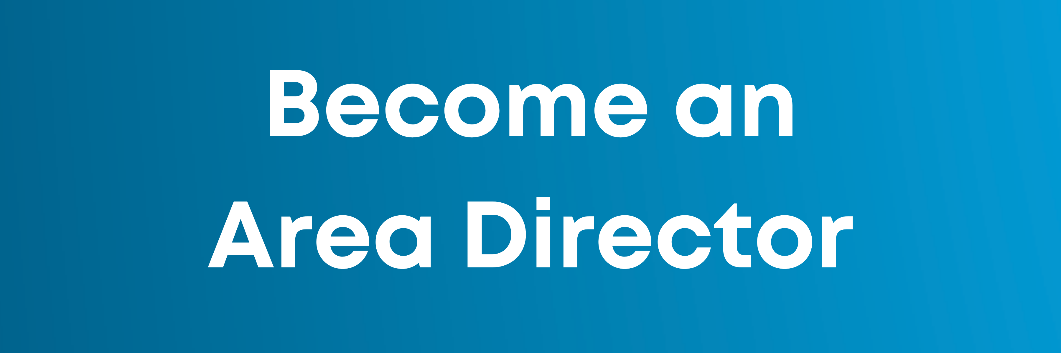 Become an Area Director button