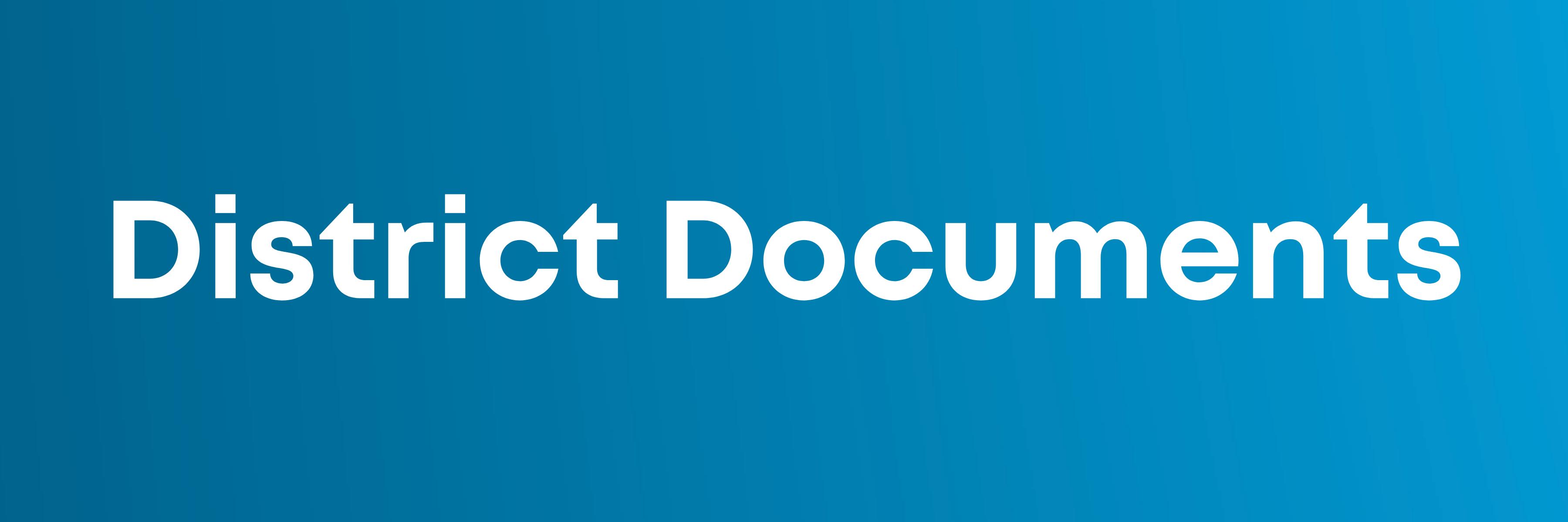 District 112 Documents button