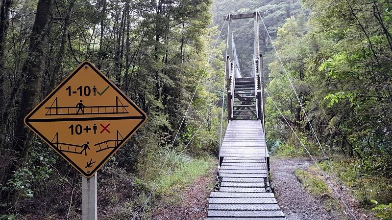Upward path with steps