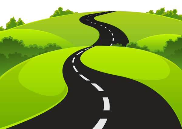 Stylised Pathway graphic